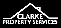Clarke Property Services Logo white (Custom)